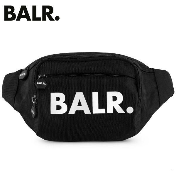 【代金引換払いは不可】ボーラー BALR ウェストバック U-Series Waist Pack Black 18621/20914