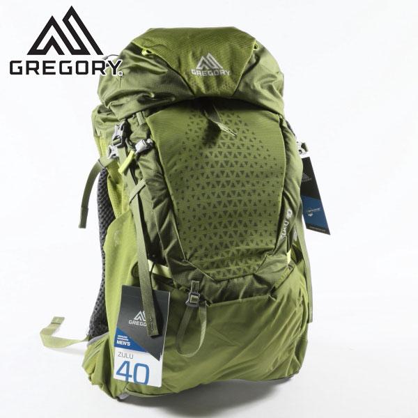 2019 NEWカラー グレゴリー バックパック ズール 40 MANTIS GREEN ML GREGORY