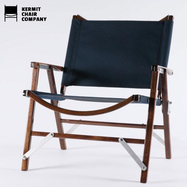 カーミットチェアウォールナット ネイビー/Kermit Chair WALNUT[Navy]