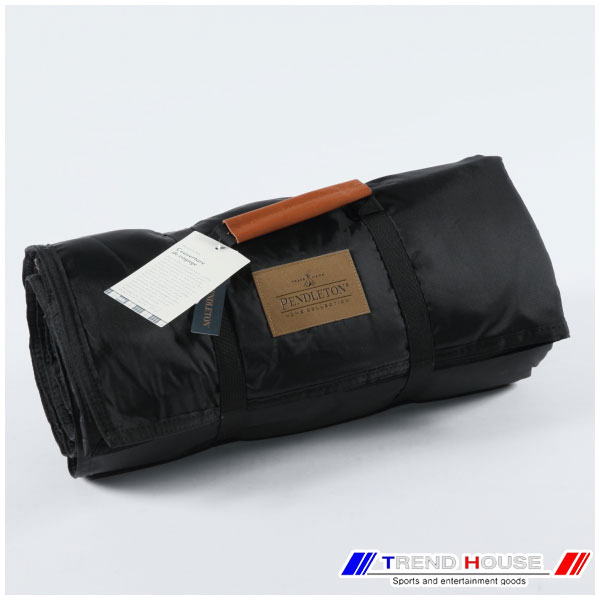 ペンドルトン ブランケット [PENDLETON]ROLL-UP BLANKET/ロールアップブランケット_XR334-52453/CHARCOAL STEWART