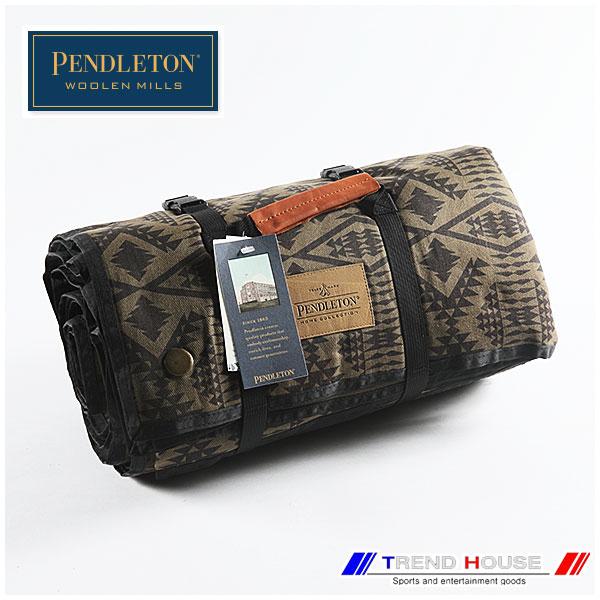 ペンドルトン ブランケット [PENDLETON]YAKIMA ROLL-UPCAMP BLANKET/ヤキマロールアップキャンプブランケット_XR342-52553/MINERAL UMBER