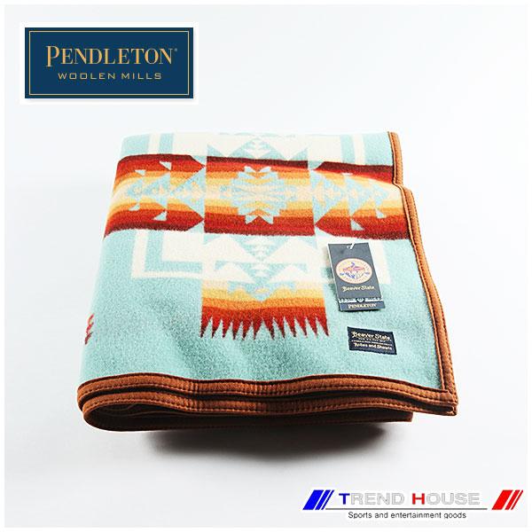 ペンドルトン ブランケット [PENDLETON]CHIEF JOSEPH BLANKET/チーフジョセフブランケット _ZD411-51128/AQUA