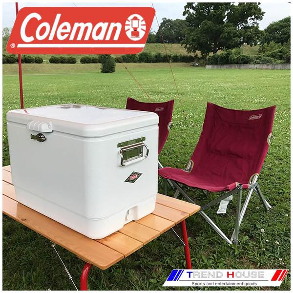 コールマン スチールベルトクーラー 54qt / ホワイト