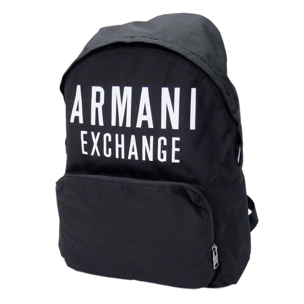 ARMANI EXCHANGE アルマーニエクスチェンジ メンズバックパック 952199 9A124 ブラック /2020春夏新作
