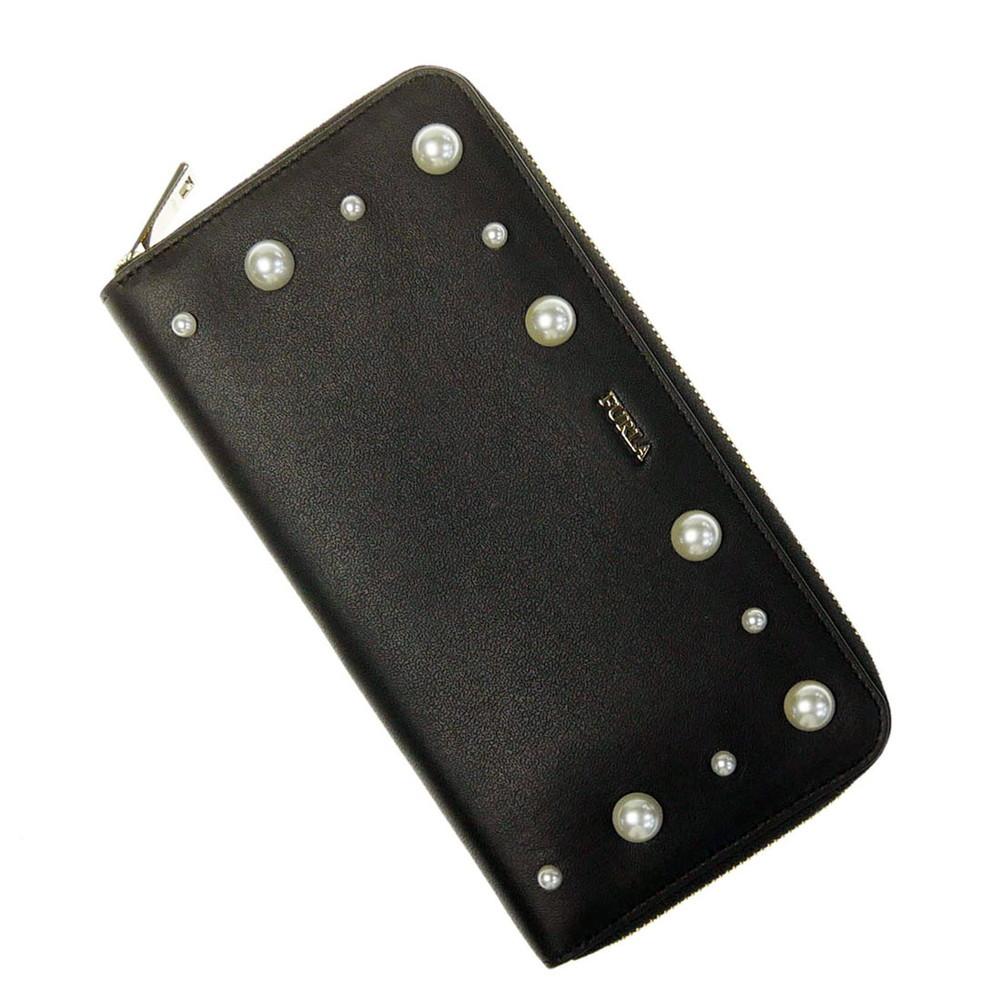 FURLA フルラ レディースラウンドファスナー長財布(小銭入れ付き) GEMMA / PZ84F82 (963815)ブラック【あす楽対応】