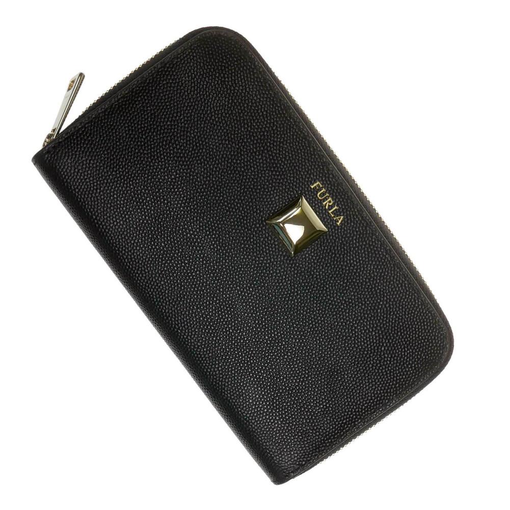 FURLA フルラ レディースラウンドファスナー二つ折り財布(小銭入れ付き) FURLA MINI / PBL4Q26 (1008314)ブラック