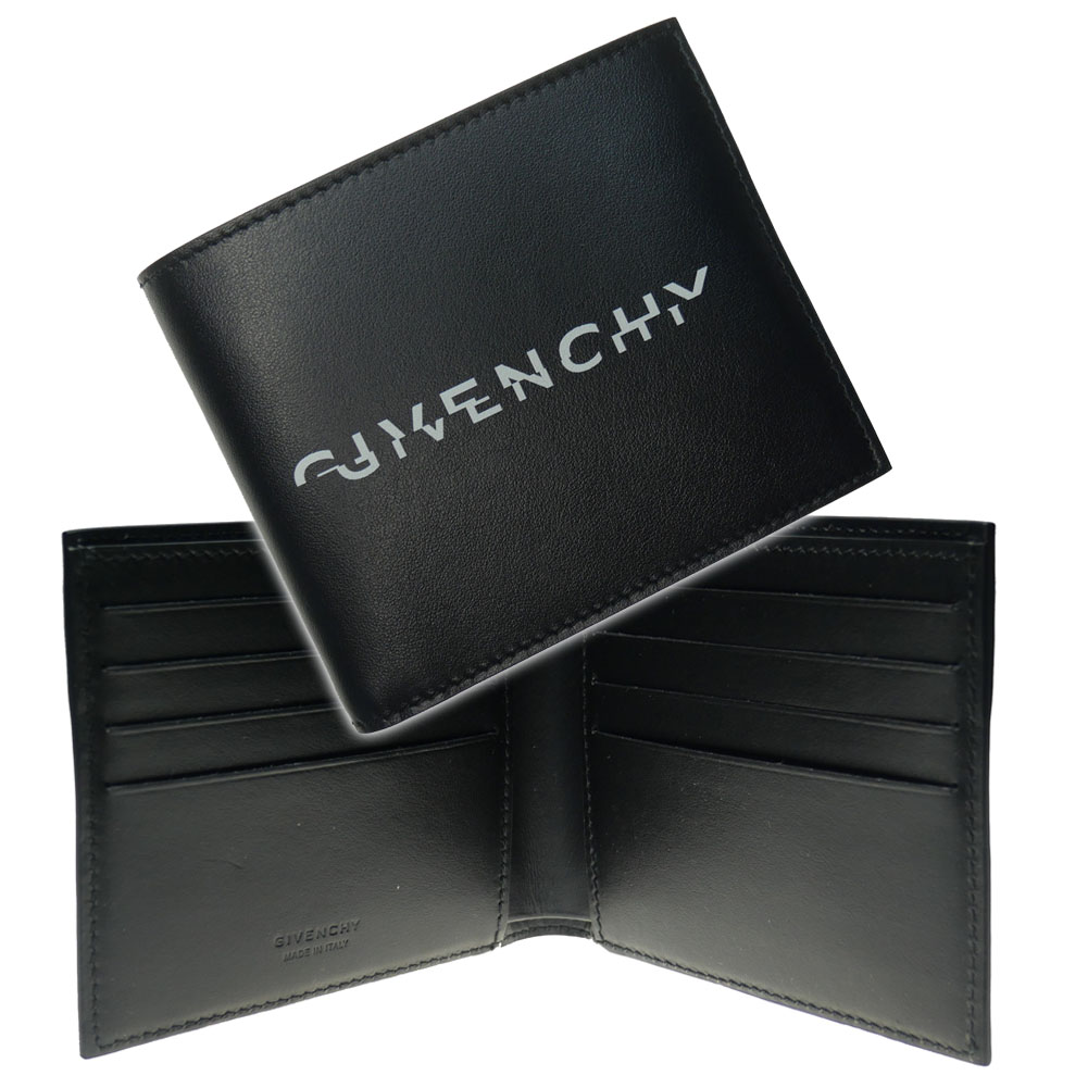 GIVENCHY ジバンシー メンズ二つ折り財布 BK6005K0UJ ブラック /2020春夏新作