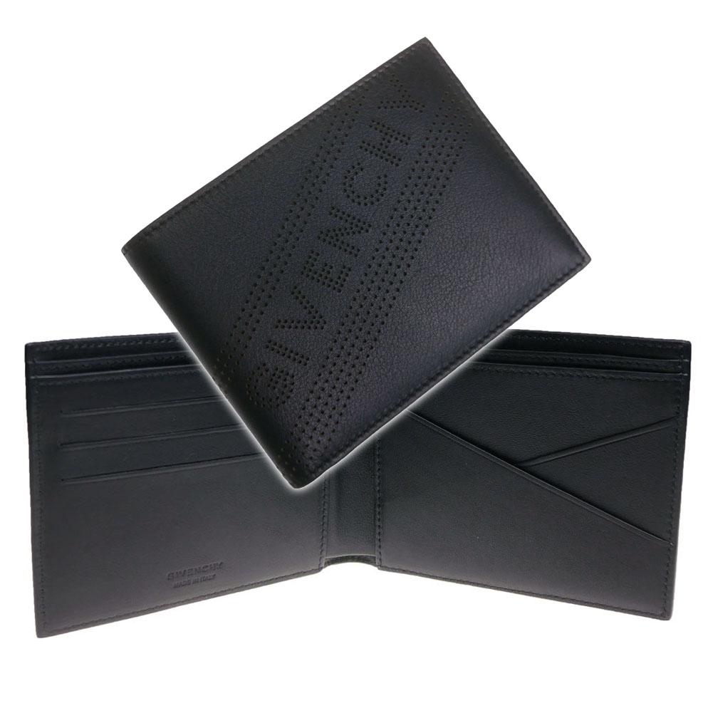 GIVENCHY ジバンシー メンズ二つ折財布 BK6012K0GK ブラック