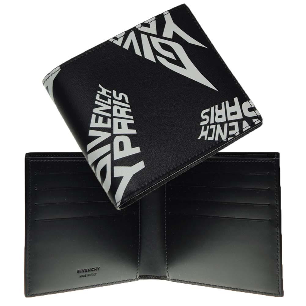 (ジバンシー)GIVENCHY メンズ二つ折財布 BK6005K0MZ ブラック