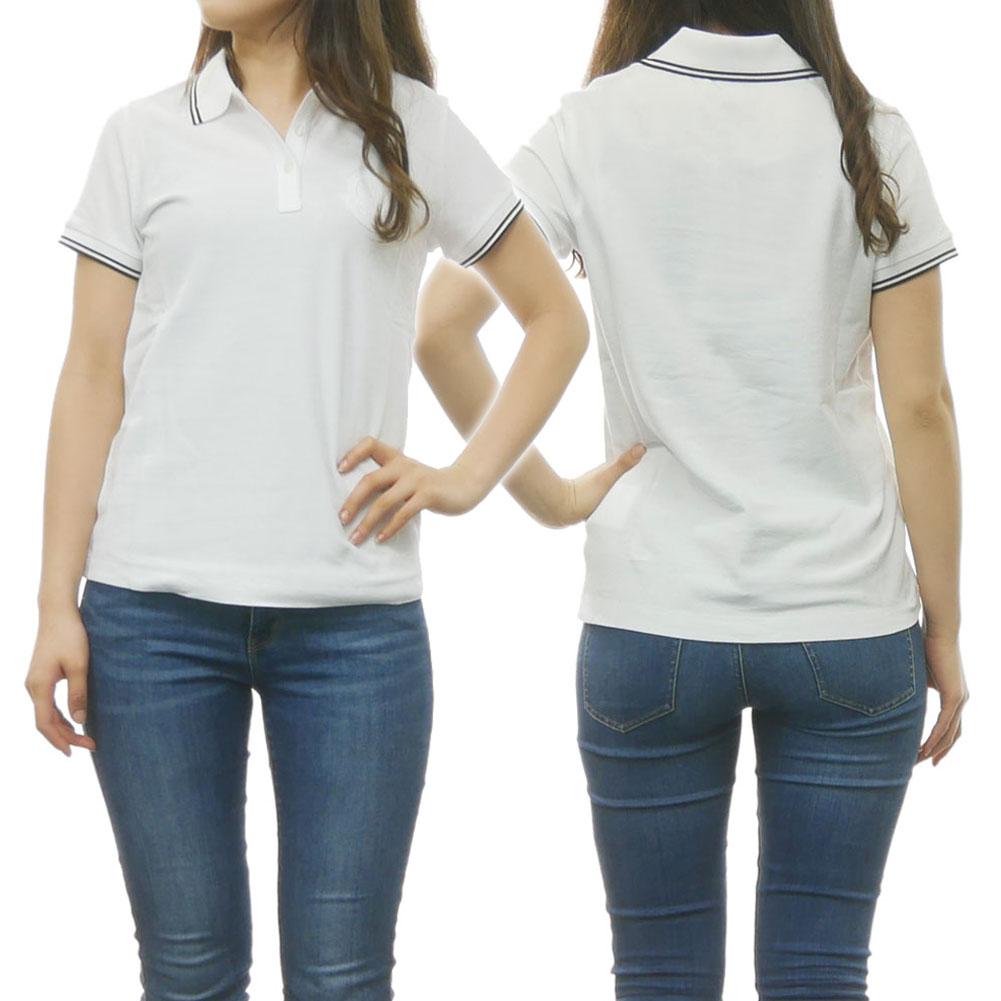 MONCLER モンクレール レディースポロシャツ 83860-61-V8003 ホワイト
