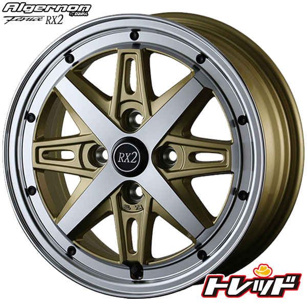 送料無料 165/55R15 TOYO トーヨー SD-k7 アルジェノン フェニーチェ RX2 ゴールドポリッシュ 新品サマータイヤ ホイール4本セット 4H100