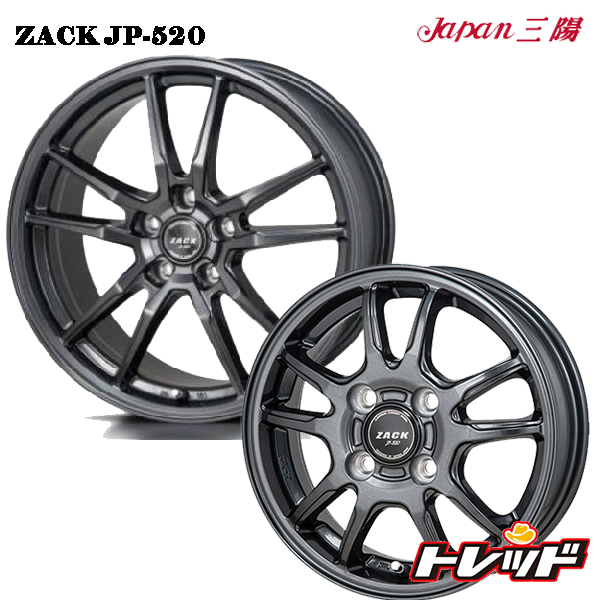 送料無料 165/55R15 GOODYEAR グッドイヤー LS2000ハイブリッド2 ZACK JP520 新品サマータイヤ ホイール4本セット 4.5J 4H100 +43