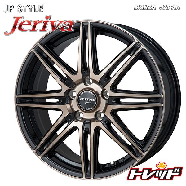 送料無料 215/60R17 WINRUN ウィンラン R380 MONZA JP スタイル ジェリバ 新品サマータイヤ ホイール4本セット 5H114.3