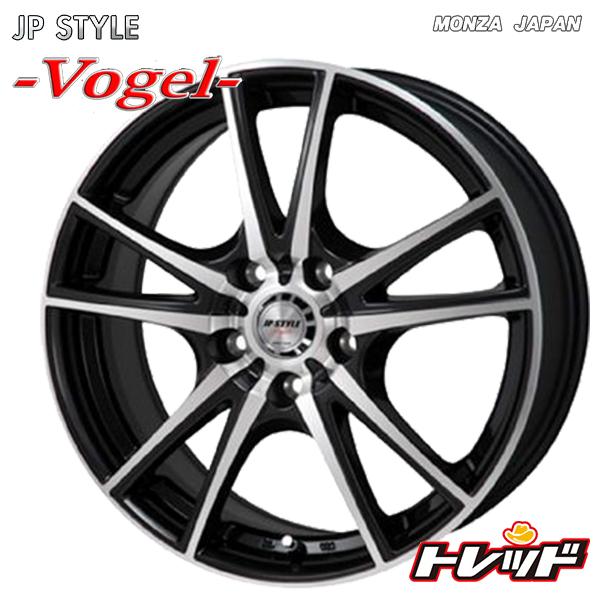送料無料 215/55R17 TOYO トーヨー SD-7 MONZA JP スタイル ヴォーゲル サマータイヤホイール 4本セット 5H114.3