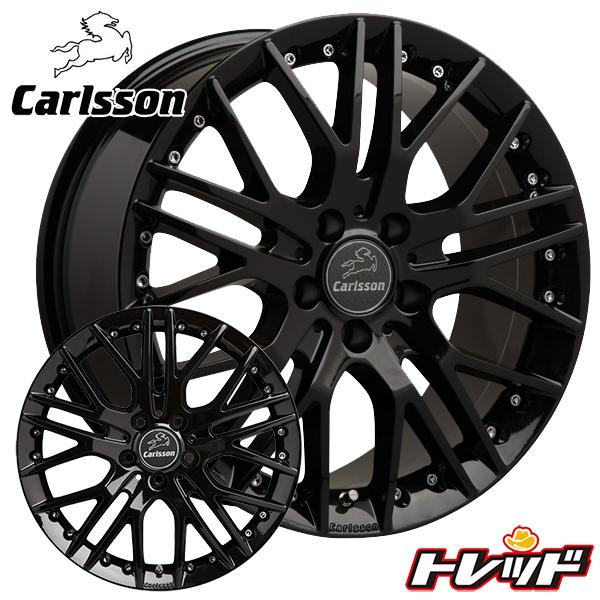 送料無料 225/50R18 HANKOOK VentusV12evo2 ハンコック K120 Carlsson カールソン 1/10 X RSR Black Edition 新品サマータイヤ ホイール4本セット 7.5J-18インチ 5H114.3