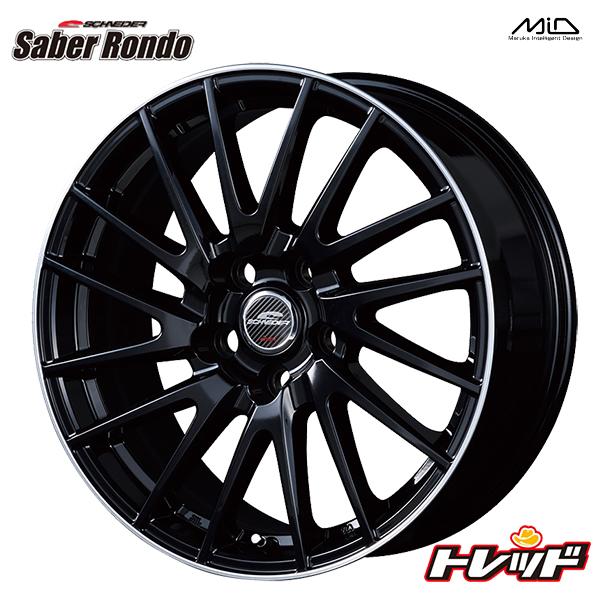 送料無料 215/55R17 WINRUN ウィンラン R330 SCHNEIDER Saber Rondo シュナイダー セイバーロンド 新品サマータイヤ ホイール4本セット 5H114.3