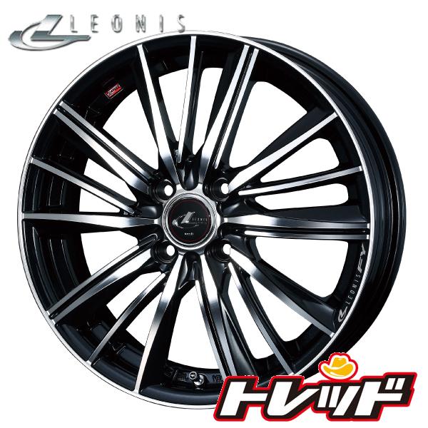 送料無料 155/65R14 TOYO トーヨー SD-k7 Weds LEONIS FY PBMC / パールブラックミラーカット 新品サマータイヤ ホイール4本セット