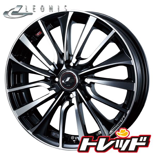 送料無料 165/55R15 VITOUR FORMULA X NewRWL ホワイトレター ウェッズ レオニス VT PBMC 新品サマータイヤ ホイール4本セット