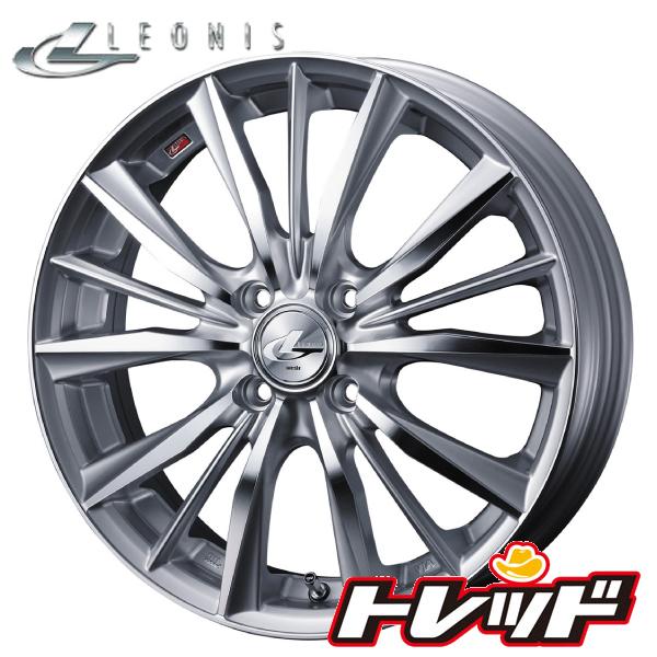 送料無料 205/40R17 WINRUN ウィンラン R330 ウェッズ レオニス VX HSMC 新品サマータイヤ ホイール4本セット