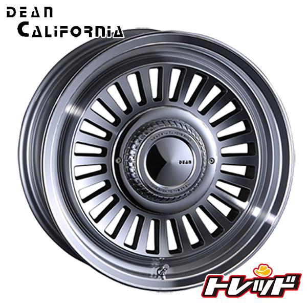 送料無料 215/65R16 WINRUN ウィンラン R350 クリムソン ディーン クロスカリフォルニア DEAN CROSS CALIFORNIA バーニッシュグレー 新品サマータイヤ ホイール4本セット 6H139.7