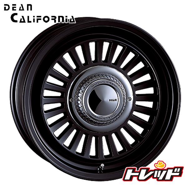 送料無料 215/65R16 WINRUN ウィンラン R350 クリムソン ディーン クロスカリフォルニア DEAN CROSS CALIFORNIA マットブラック 新品サマータイヤ ホイール4本セット 6H139.7