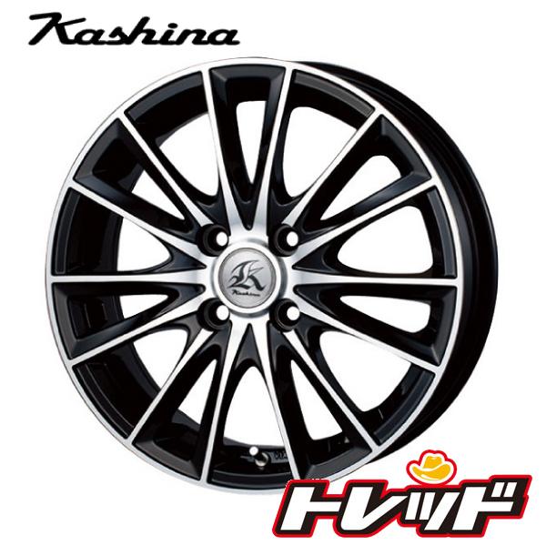 送料無料 165/40R16 KENDA ケンダ KR20 テクノピア Kashina カシーナ FV7 新品サマータイヤ ホイール4本セット 4H100