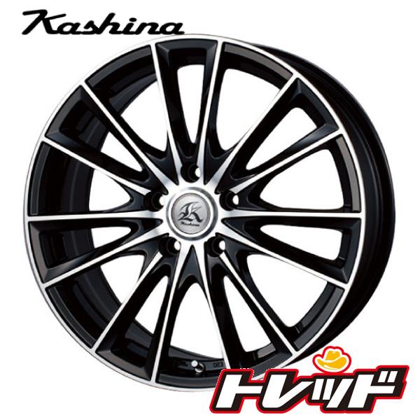 送料無料 245/40R19 HANKOOK VentusV12evo2 ハンコック K120 テクノピア Kashina カシーナ FV7 サマータイヤホイール 4本セット 5H114.3