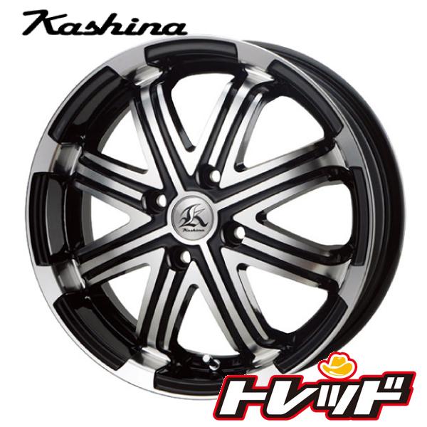 送料無料 165/60R15 HANKOOK ハンコック H433 テクノピア Kashina カシーナ V1 新品サマータイヤ ホイール4本セット 4H100