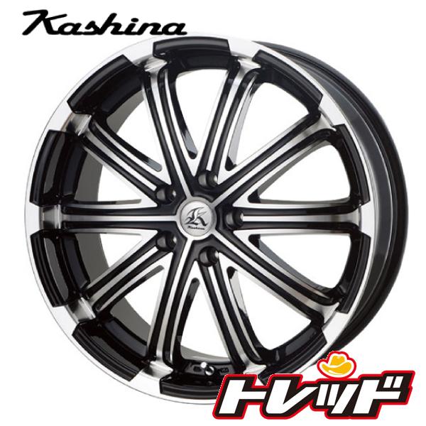 送料無料 225/45R18 WINRUN ウィンラン R330 テクノピア Kashina カシーナ V1 新品サマータイヤ ホイール4本セット 5H114.3
