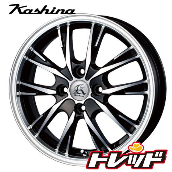 送料無料 165/60R15 KENDA ケンダ KR23A テクノピア Kashina カシーナ XV5 新品サマータイヤ ホイール4本セット 4H100