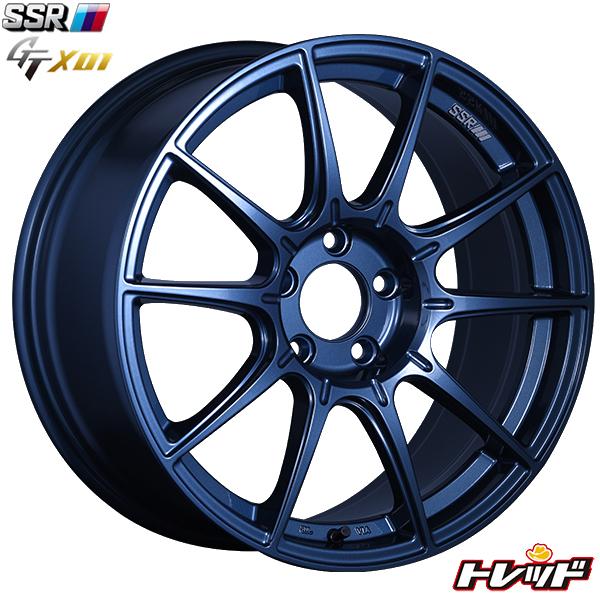 送料無料 235/40R18 TOYO PROXES Sport トーヨー プロクセス スポーツ SSR GTX01 ブルーガンメタ サマータイヤホイールセット 18インチ 8.5J 5H114.3 +44
