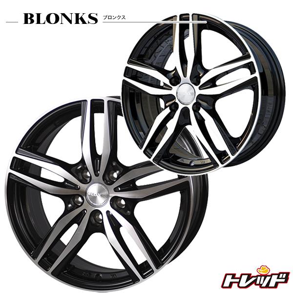 送料無料 205/55R16 TOYO トーヨー SD-7 BLONKS ブロンクス TB03 ブラックポリッシュ 新品サマータイヤ ホイール4本セット 5H114.3