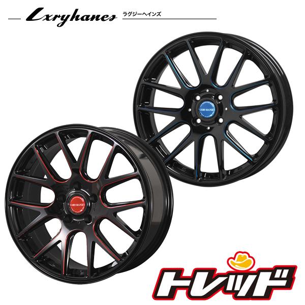 送料無料 225/60R17 ピレリ (PIRELLI) P7 EVO PERFORMANCE ラグジーヘインズ LH013 ブラック/レッドクリア サマータイヤ ホイール 4本セット 5H114.3