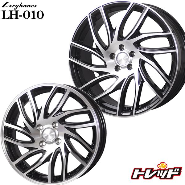 送料無料 165/45R16 KENDA ケンダ KR20 ラグジーヘインズ LH010 メタリックブラックポリッシュ 新品サマータイヤ ホイール4本セット 16インチ 5.0J 4H100 +45