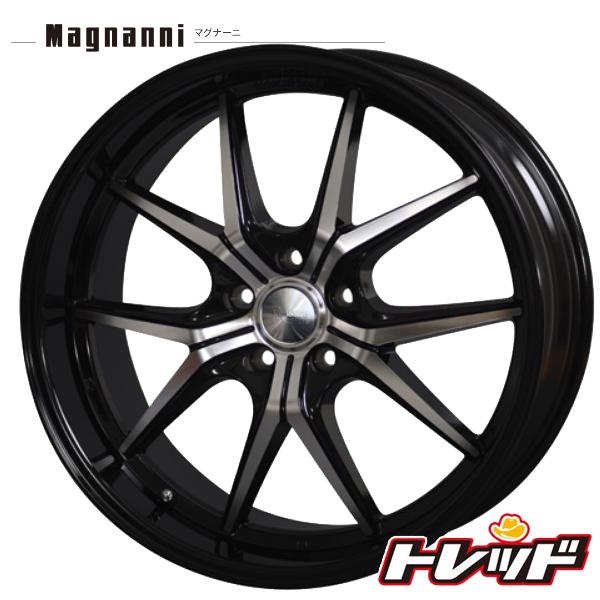 送料無料 245/45R19 WINRUN ウィンラン R330 Magnanni マグナーニ MXV ブラックポリッシュ/ブラックリム サマータイヤホイール 4本セット