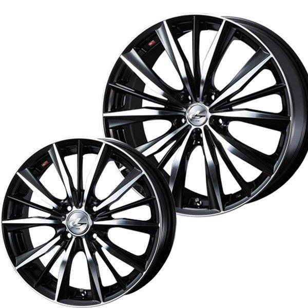 新品 サマータイヤホイール 4本セット 送料無料 215 定価 35R19インチ5H114.3 ウェッズ VX 正規逆輸入品 K120サマータイヤホイールセット BKMCハンコック レオニス