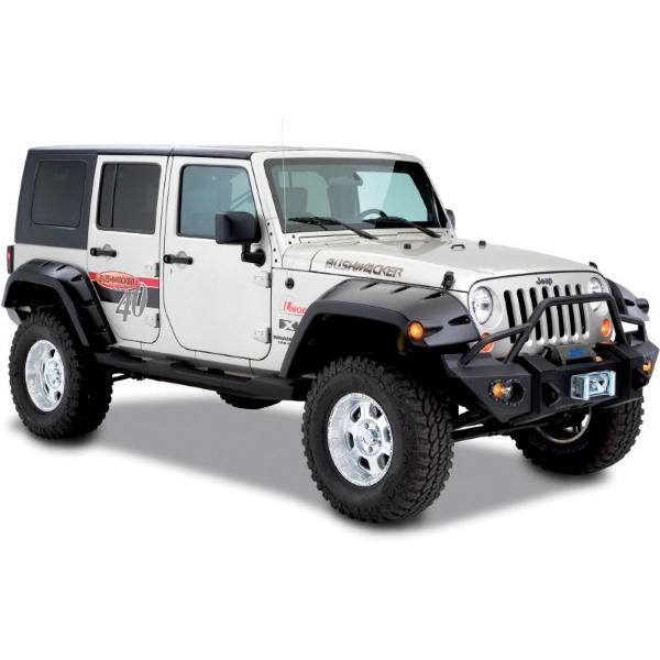 ジープ ラングラー Jeep Wrangler JKラングラーアンリミテッド オーバーフェンダー 【送料無料】 ブッシュワーカー ポケットスタイルオーバーフェンダー