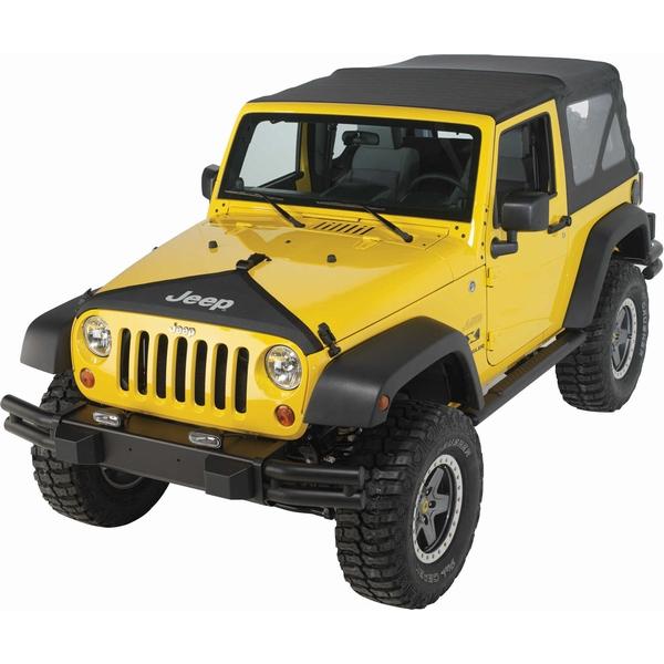 ジープ ラングラー Jeep Wrangler ジープJKラングラー/ジープJKラングラー アンリミテッド 【送料無料】 MOPAR モパー ノーズブラ フードカバー ブラック