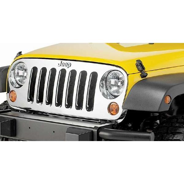 ジープ ラングラー Jeep Wrangler ジープJKラングラー/ジープJKラングラー アンリミテッド 【送料無料】 MOPAR モパー クロームグリル