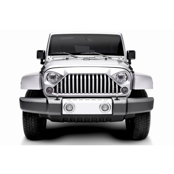 ジープ ラングラー Jeep Wrangler ジープJKラングラー/ジープJKラングラー アンリミテッド 【送料無料】 ナイトホーク フロントグリル タイプC ラングラー カスタム パーツ