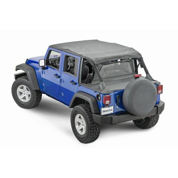 ジープ ラングラー Jeep Wrangler JKラングラーアンリミテッド 幌 ソフトトップ 【送料無料】 マスタートップ サマーコンボトップ プラス