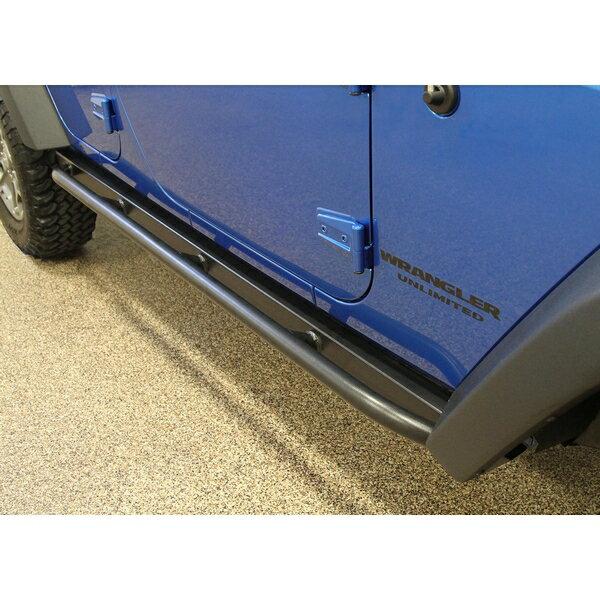 ジープ ラングラー Jeep Wrangler JKラングラー アンリミテッド ロックスライダー ロックレール 【送料無料】 ロックハード4x4 パトリオットロッカーガード