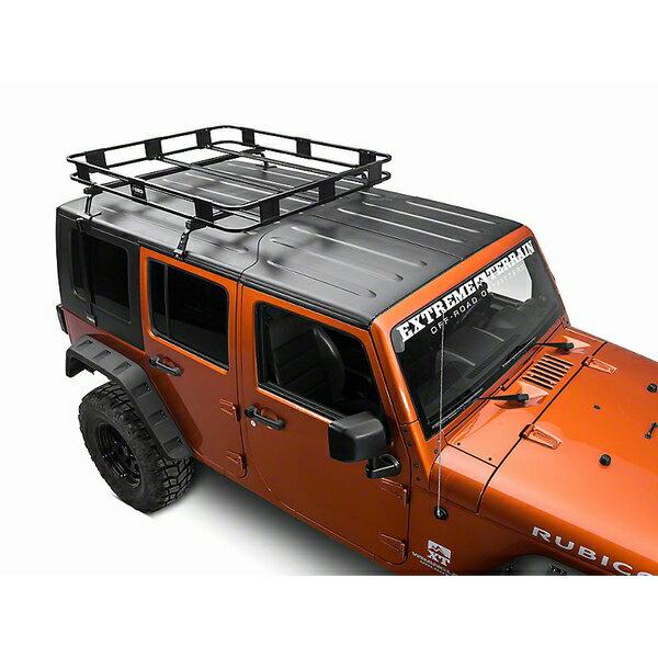 ジープ ラングラー Jeep Wrangler JKラングラー ルーフキャリア ルーフラック 【送料無料】 スルコ サファリハードトップラック
