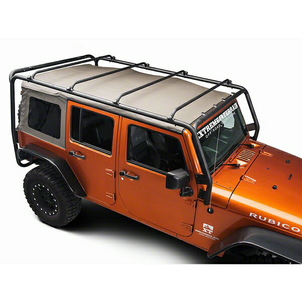 ジープ ラングラー Jeep Wrangler JKラングラー アンリミテッド ルーフキャリア ルーフラック 【送料無料】 バリケードオフロード ルーフラック