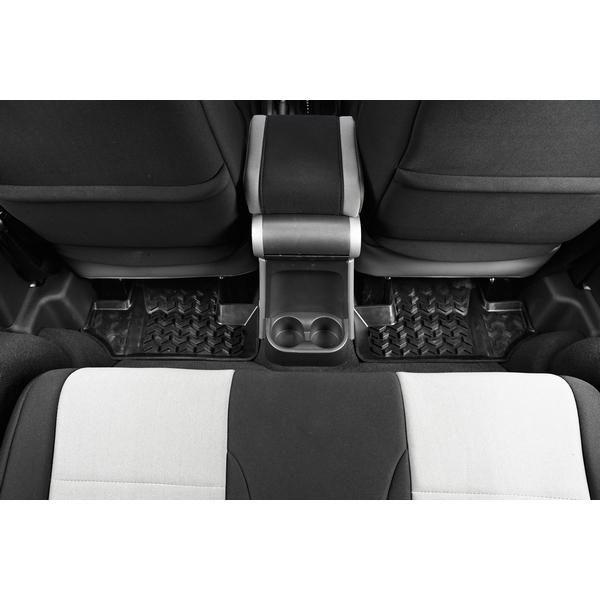 ジープ ラングラー Jeep Wrangler ジープJKラングラー 【送料無料】 ラギッドリッジ フロアマット リアシート用 ブラック