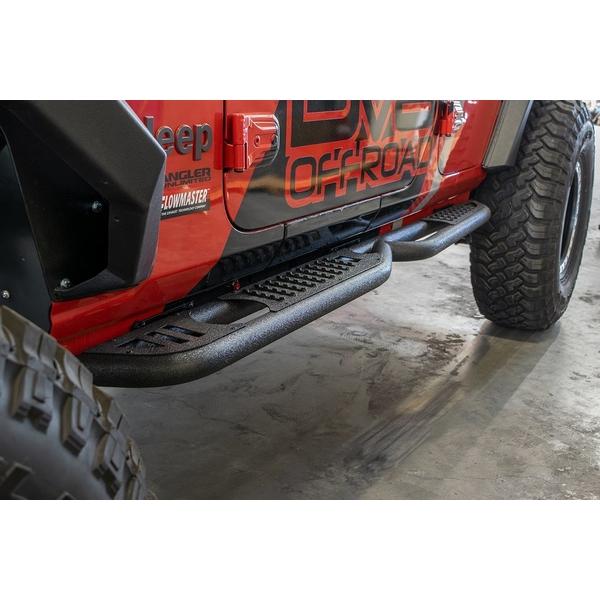 ジープ ラングラー Jeep Wrangler ジープJLラングラー アンリミテッド 【送料無料】 DV8オフロード チューブラースライダーステップ