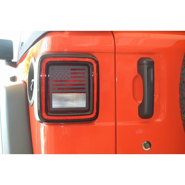 ジープ ラングラー Jeep Wrangler ジープJLラングラー/ジープJLラングラー アンリミテッド 【送料無料】 ジープツイークス テールライトガード JT20-B ブラック