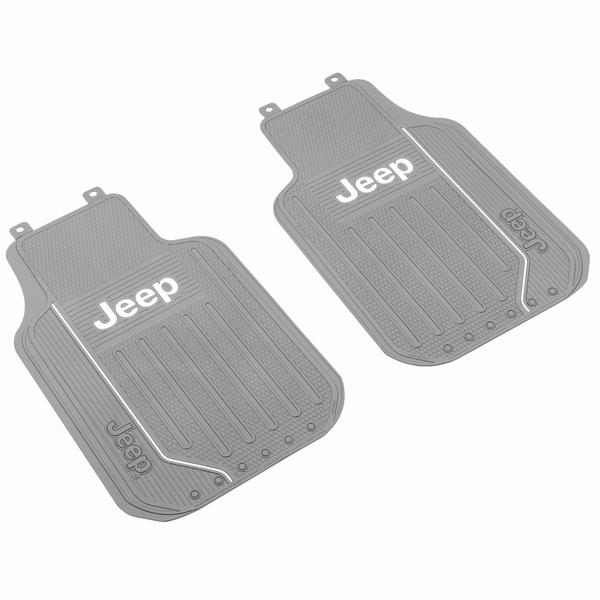 ジープ ラングラー Jeep Wrangler ジープJLラングラー/ジープJKラングラー 【送料無料】 プラスチカラー エリートシリーズ フロアマット フロントシート左右セット グレー ラングラー カスタム パーツ