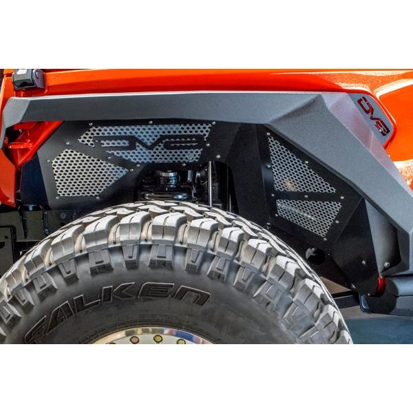 ジープ ラングラー Jeep Wrangler JLラングラー JLラングラーアンリミテッド 【送料無料】 DV8オフロード フロントインナーフェンダー ラングラー カスタム パーツ