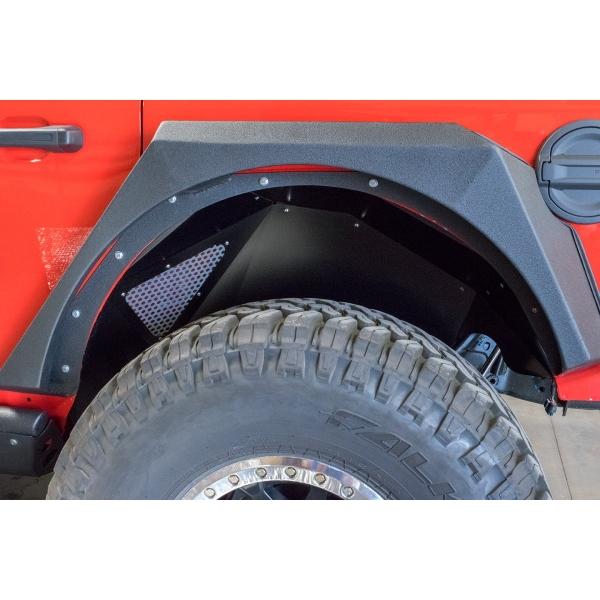 ジープ ラングラー Jeep Wrangler JLラングラー JLラングラーアンリミテッド 【送料無料】 DV8オフロード リアインナーフェンダー ラングラー カスタム パーツ